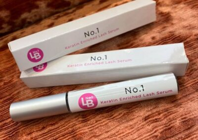 No.1 Keratin Enriched Lash Serum in salon now £25.00