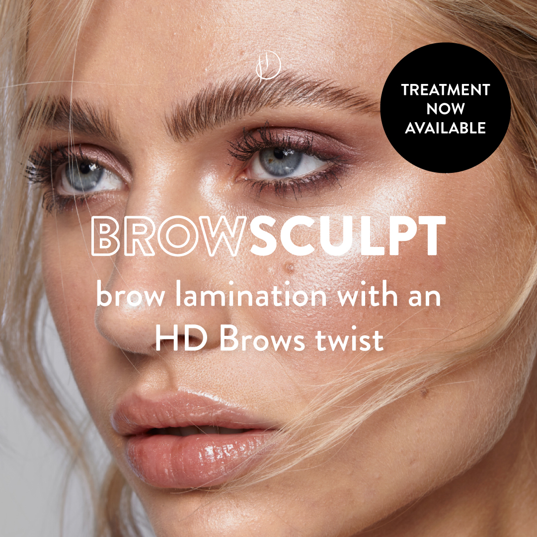 Brow Sculpt brow lamination with HD Brow twist
