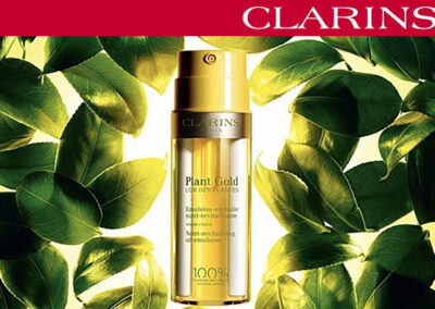 New Clarins Plant Gold Revitalising Oil-Emulsion